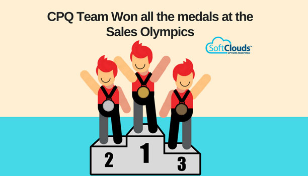 CPQ Team Won all the medals at the Sales Olympics